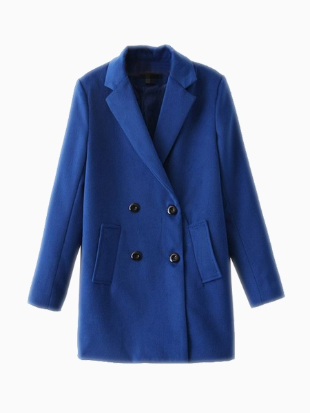 Limited Edition Blue Coat | Choies