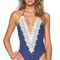Blue life capri one piece swimsuit in marine from revolveclothing.com