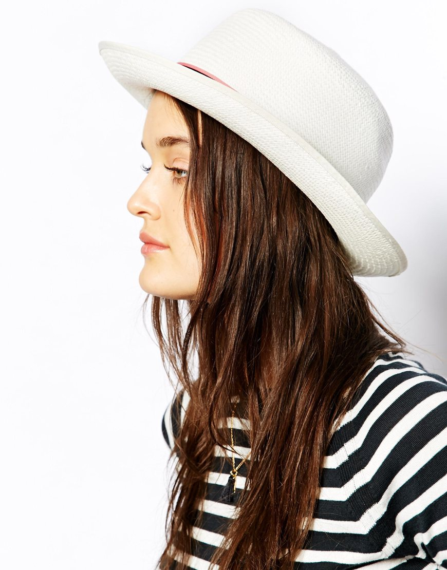 Jack Wills Panama Hat at asos.com