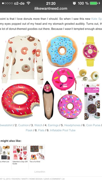 jewels donut pool accessory