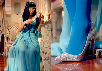 nicki minaj pointed toe glitter shoes pumps silver shoes doe dope swag cute pretty trendy shoes