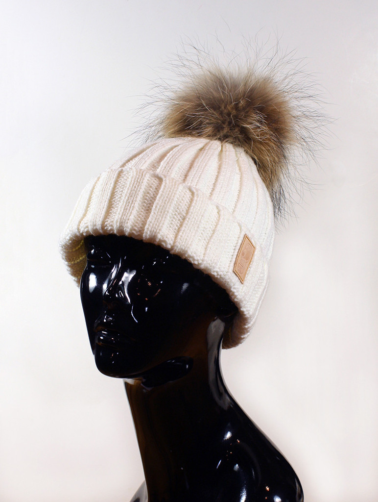 Fur Pom Beanie | Created by Fortune