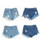 Shop jeans shorts - 2 colors - awesome world online store | awesome world - online store