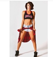 tank top,chicago bulls,plaid shirt,checkered shirt,sneakers,shorts,t-shirt,shoes,shirt,crop tops,style