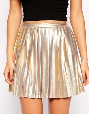 Jovonna school of rock pleated mini skirt at asos.com