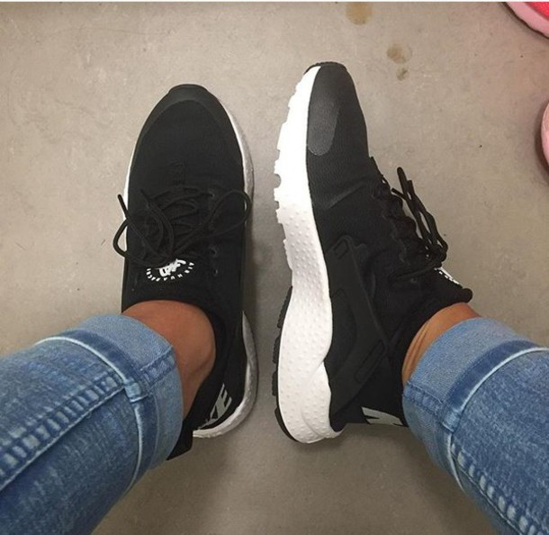 Nike Air Huarache Ultra White Black White