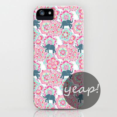 Elephant print iphone case cover (iphone 5/ iphone 6) – glamzelle