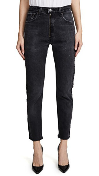 Re/Done jeans high black