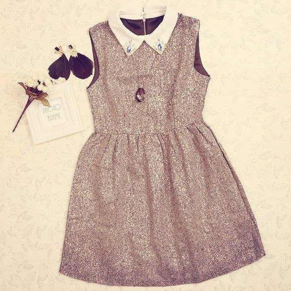 cute sparkle dress sparklys sparkly dress cute dress pretty pretty dress pretty outfit outfit girly girly outfit girly dress preppy collared collar collared dress summer elegant
