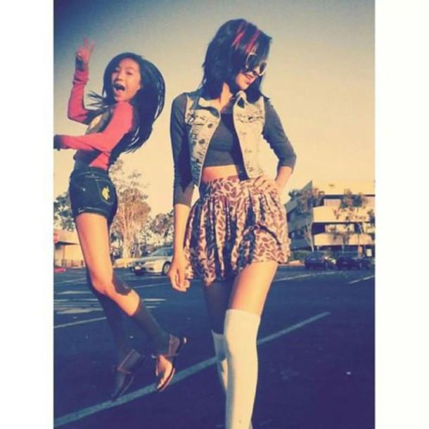 Pleasant Socks Cute Outfits Skirt Black Hair Charcoal Charcoal Jean Short Hairstyles For Black Women Fulllsitofus