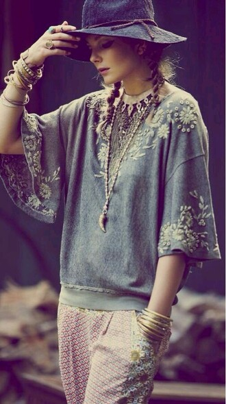 t-shirt boho bohemian sweater bohemian bohemian top boho chic
