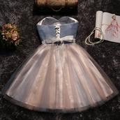 dress,champagne evening dresses,sleeveless prom dresses,bowknot homecoming dresses
