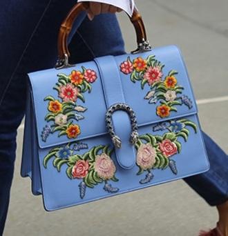 bag blue bag gucci bag