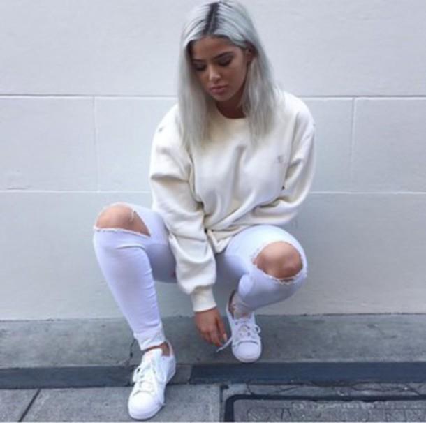64c4e860573 shirt baddies tumblr cream style baddie outfit