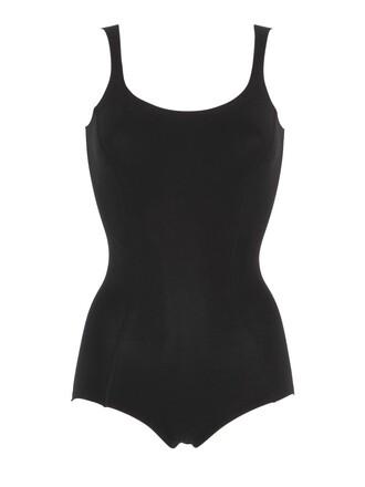 bodysuit cotton black underwear