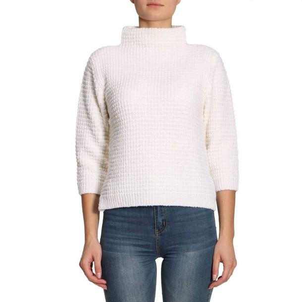 Eleventy sweater women white