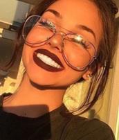 sunglasses,clear glasses