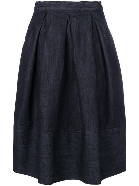 Société Anonyme skirt women cotton blue