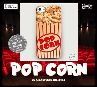 jewels pop corn design art fashion girly iphone case vertigo cool girl style