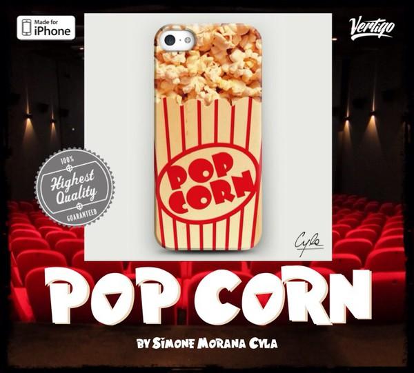 jewels pop corn design art fashion girly iphone case vertigo cool girl style