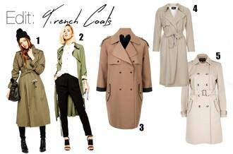 lolita mas blogger coat trench coat