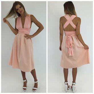 dress set matching set matching peach set peach set peach midi skirt peppermayo