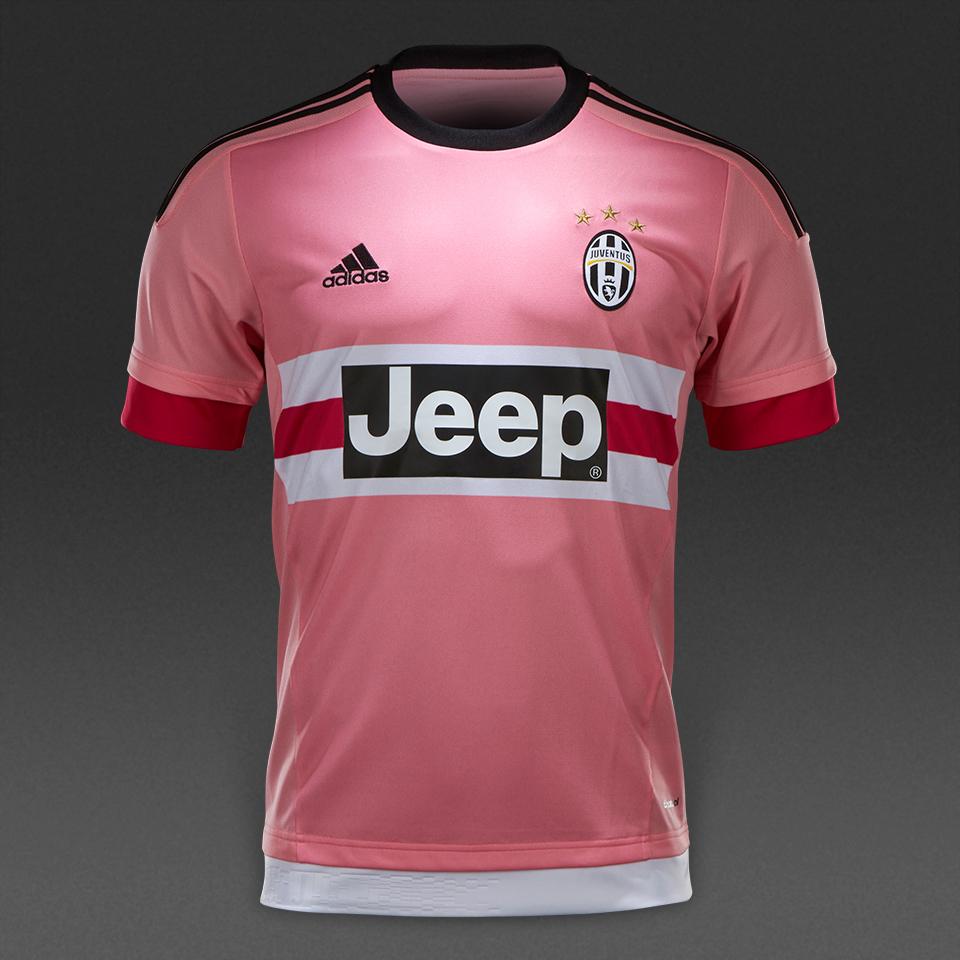 19f237121f4 Soccer Jerseys - adidas Juventus 15 16 Away Jersey - Replica Apparel -  White Black