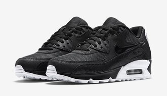 shoes nike nike air force air max black white casual workout running fitness 2015