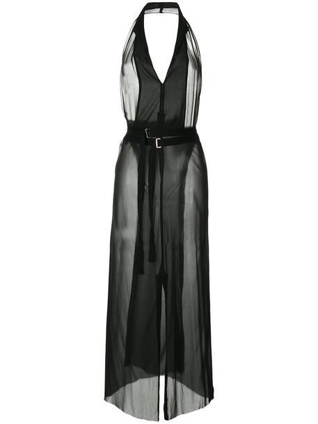 Zambesi dress wrap dress women black silk