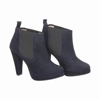 shoes blue dark boots blue boots blue suede shoes blue shoes