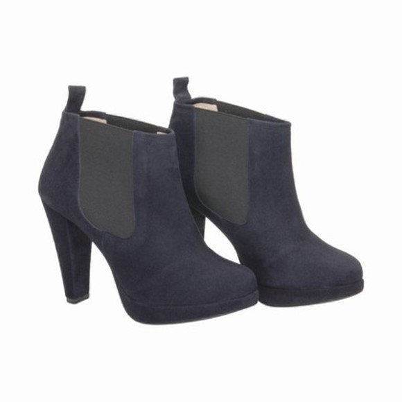 shoes boots blue boots blue dark blue suede shoes blue shoes