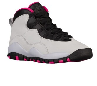 shoes jordan 10s gs jordans black and white