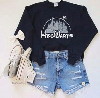 shirt hogwarts sweatshirt harry potter