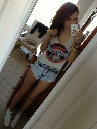 shorts jh shirt shoes cute cutie band cool girl teenagers pretty perfect actress singer model skinny acacia brinley tank top