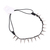 Multifunctional Punk Gothic Stud Rivet Spike Collar Necklace Bracelet Headband | eBay