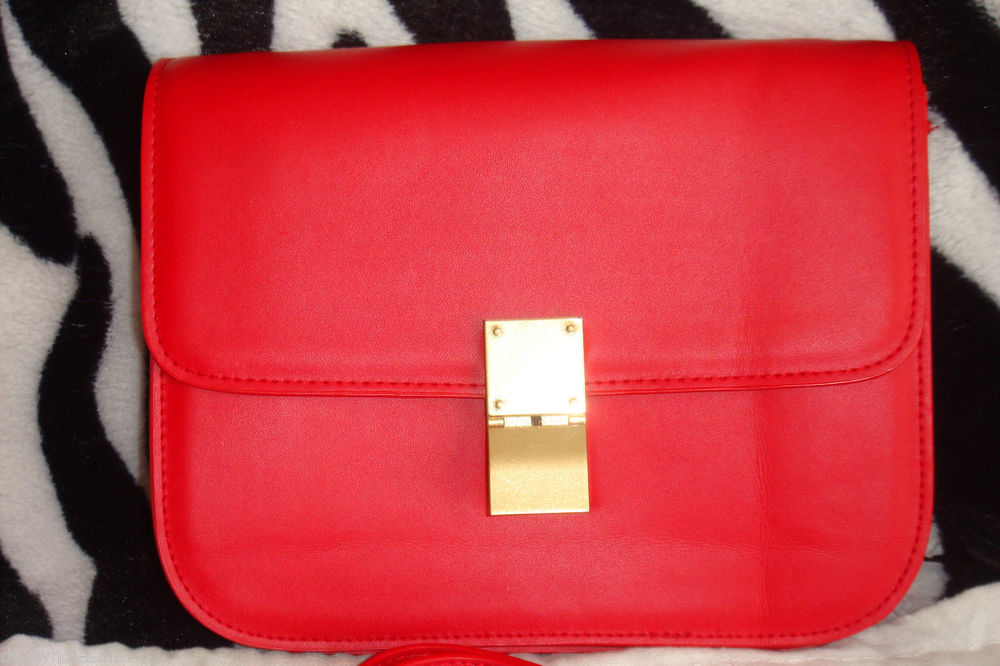 041a2d4849 Celine Red Box Bag Pre Owned