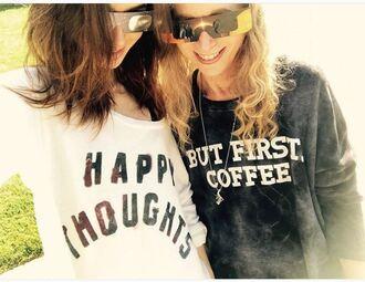 top sweatshirt lily collins instagram