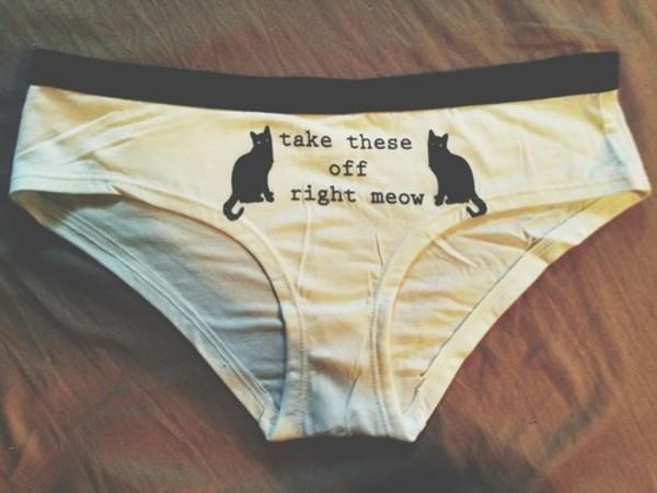 underwear cats cats sexy panties panties cats meow swimwear knickers pajamas pajamas cats