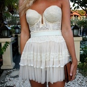 skirt,lace dress,dentelle,dress