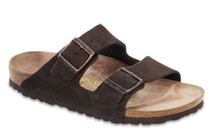 Arizona  Mocha Suede Sandals | Birkenstock USA Official Site