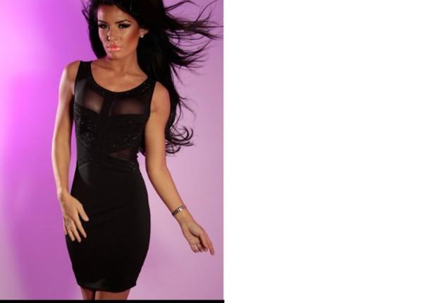 Black Black Dress Bodycon Dress Skirt T Shirt Slim Dress
