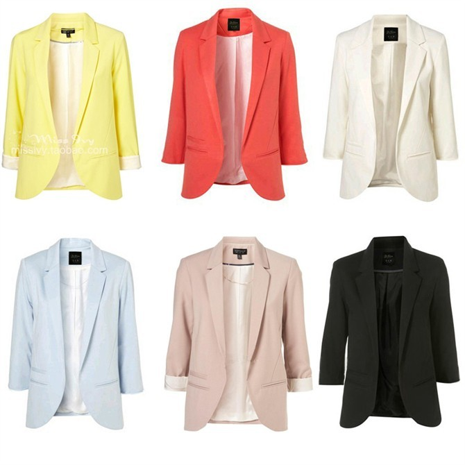 Collection Color Blazers Pictures - Reikian