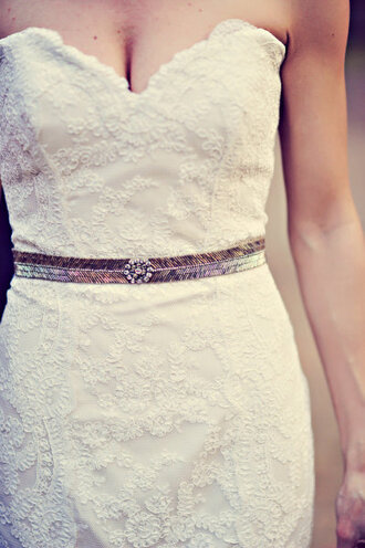 belt clothes vintage silver metal dress hipster wedding