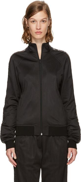 sweater zip black