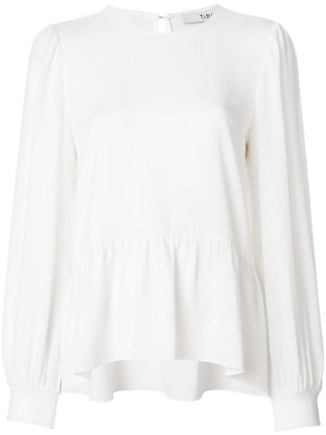 blouse women white top
