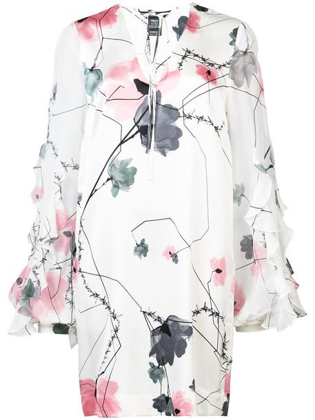 dress mini dress mini women spandex white print silk