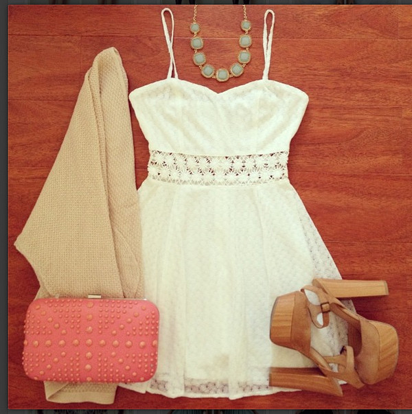 dress crochet dress white dress white crochet dress lace dress ici fashion summer dress icifashion sweater