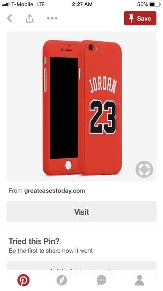 phone cover jordan 23