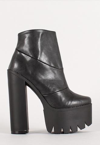 shoes platform shoes grunge shoes
