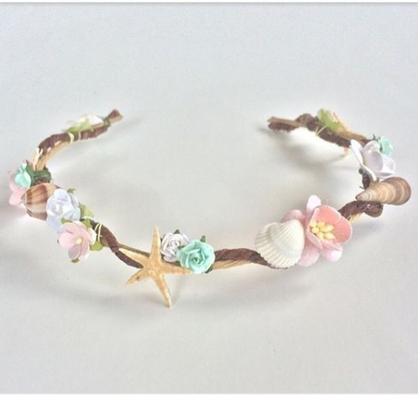 Hair Accessory Seashell Headband